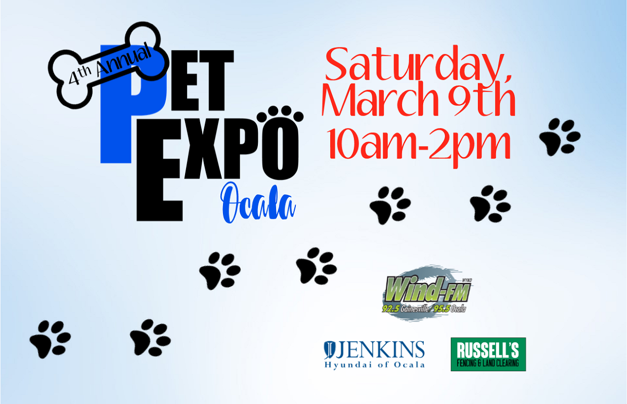 4th Annual Ocala Pet Expo - WINDFM - 92 5 Gainesville 95 5 Ocala